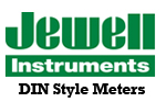 Jewell DIN Style Meters